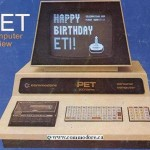 1977 Commodore announces that the PET (Personal Electronic Transactor)