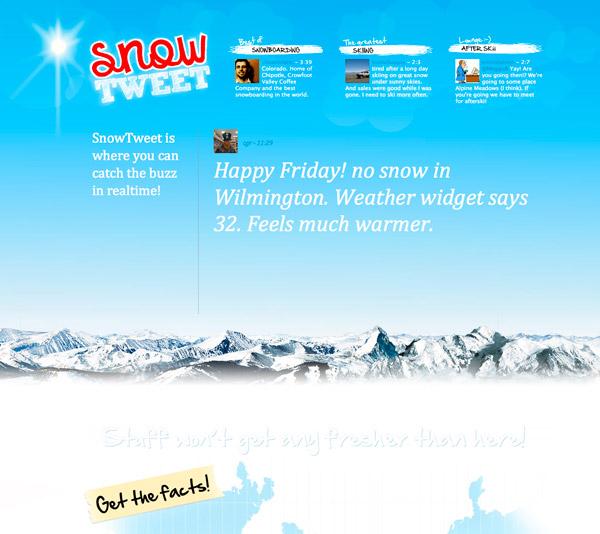snowtweet